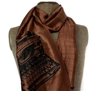 Typewriterscarf
